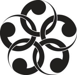 Black&white swirl