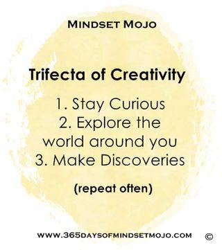 Trifecta of creativity