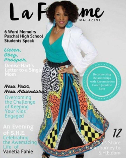LaFemme Magazine cover
